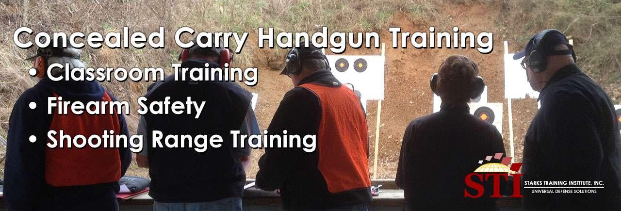 Concealed Carry Handgun Training